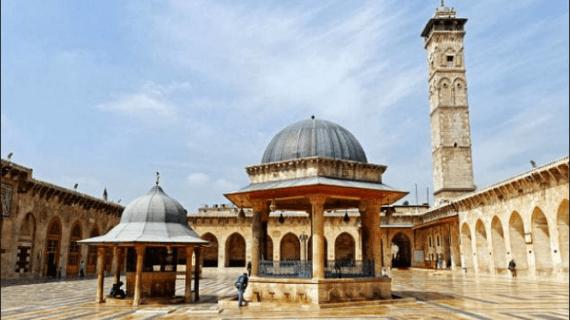 Masjid Agung Umayyah, Suriah