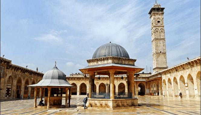 masjid agung umayyah aleppo