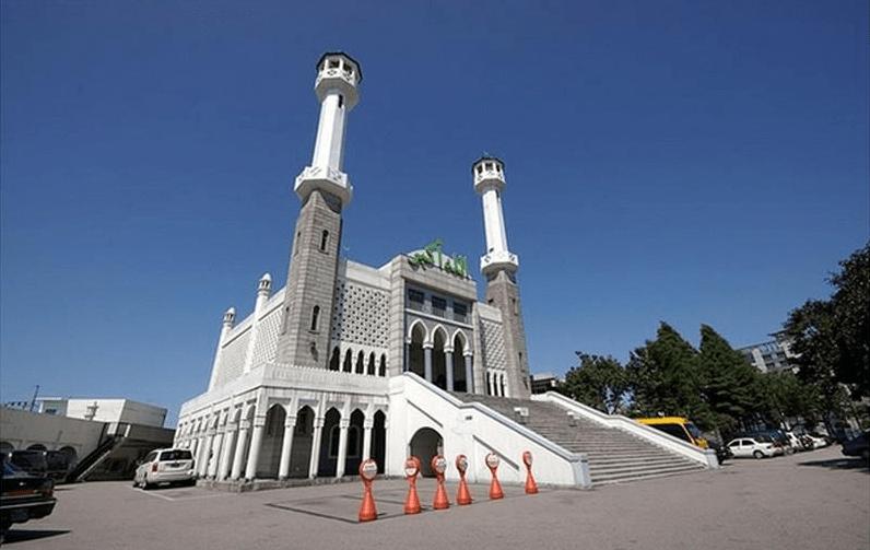 masjid central di korea