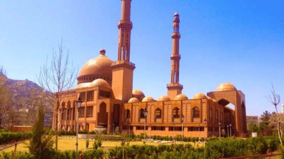 Masjid Haji Abdul Rahman di Afghanistan