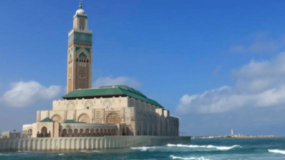 Indahnya Masjid Hasan II Maroko