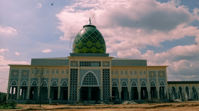 masjid islamic center prabumulih