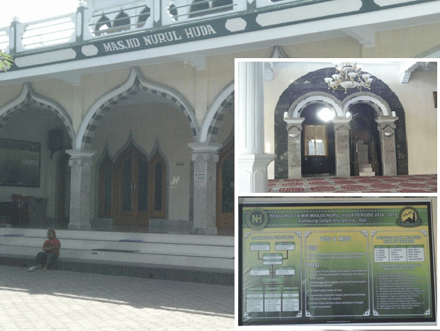 masjid nurul huda di bali