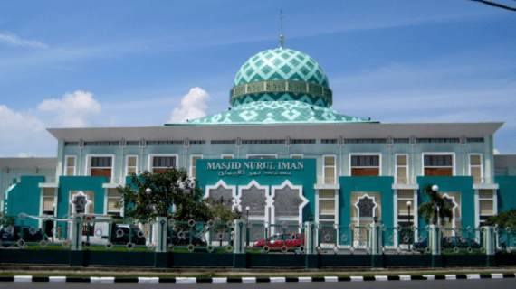 Masjid Nurul Iman di Padang Sumatera Barat
