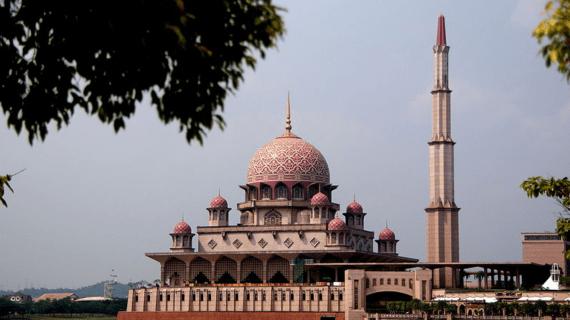 Masjid Putra, Putrajaya Malaysia
