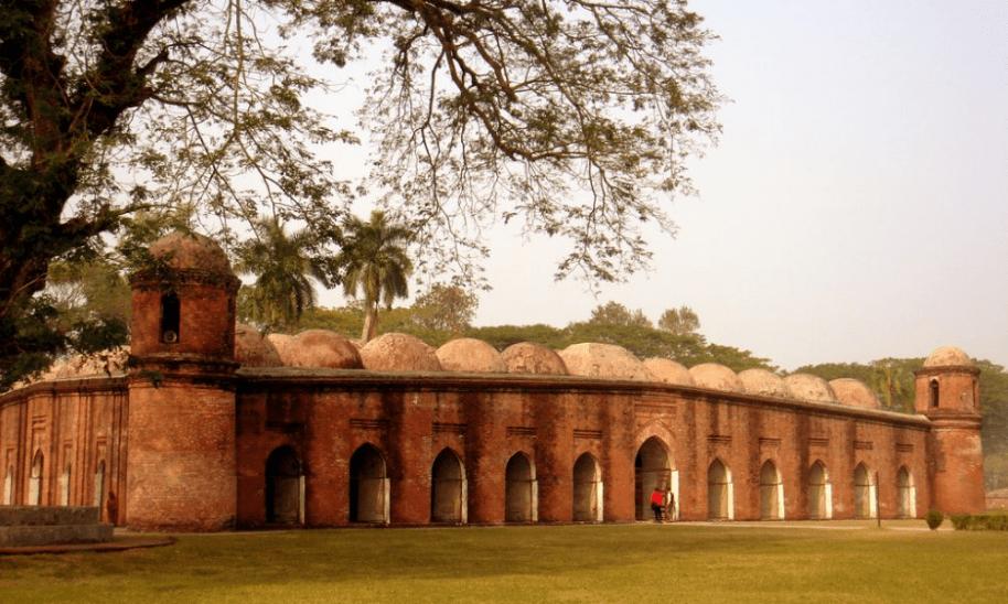 masjid shaat gombuj.