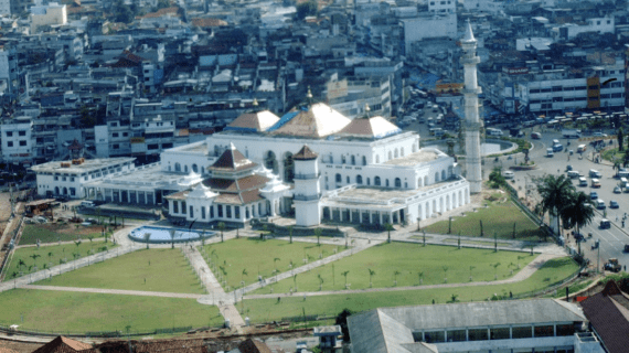 Masjid Agung Sultan Badaruddin II di Palembang
