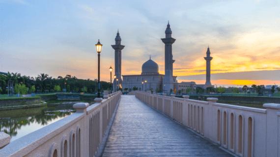 Masjid Tengku Ampuan Jemaah, Selangor Malaysia