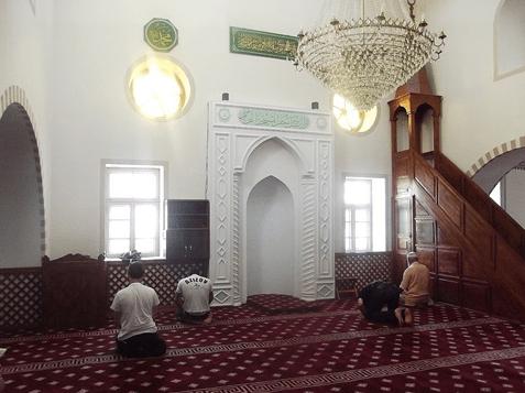 mimbar Masjid Jami Kebir Simferopol