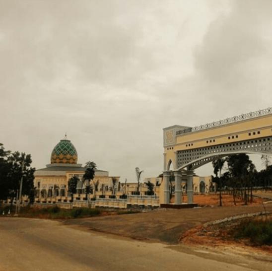 pintu gerbang islamic center prabumulih