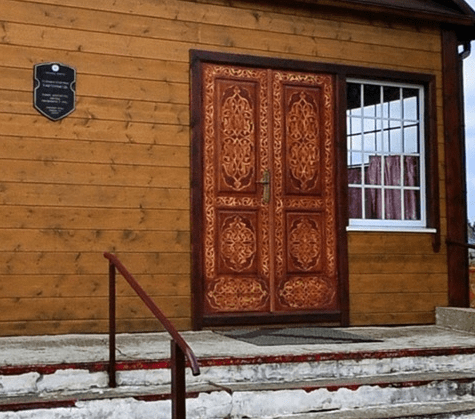 pintu masuk Masjid Iwye