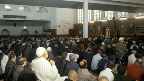 ruangan yang lega di masjid an-nashr