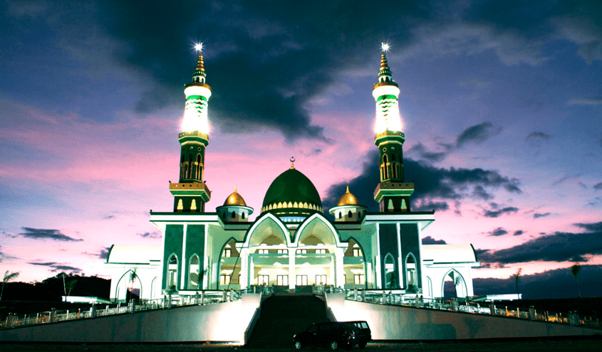 Masjid Agung Darussalam Taliwang