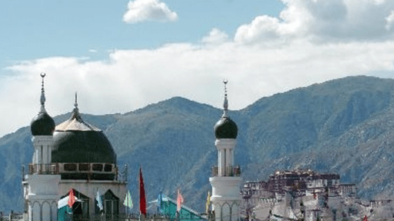 Masjid Agung Lhasa – Tibet
