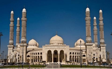 Masjid Agung Sana'a – Yaman