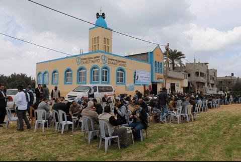 Masjid Daarut Tauhiid Indonesia di Gaza Palestina