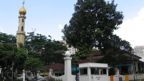 Masjid Omar Kampung Malakan – Singapura