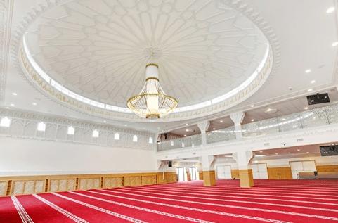 interior Masjid Agung Covenhagen