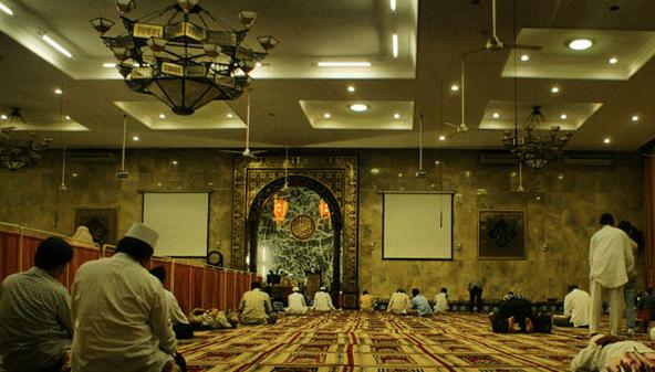 interior Masjid Agung Sunda Kelapa