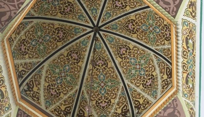 interior Masjid Al-Osmani
