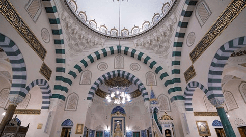interior Masjid Diyanet Center of Amerika