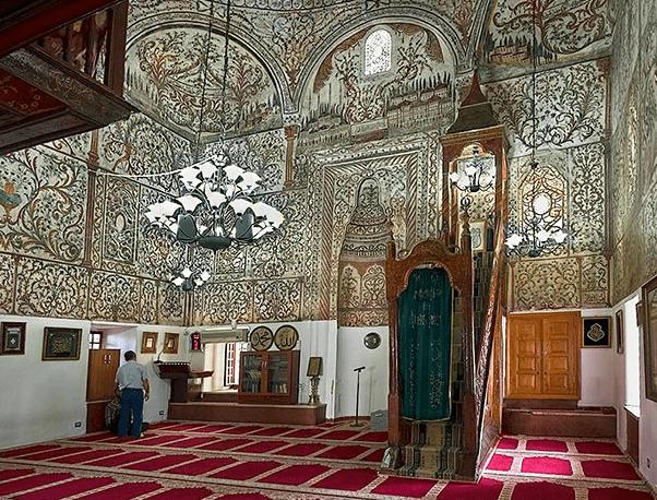 interior Masjid Et'hem Bey