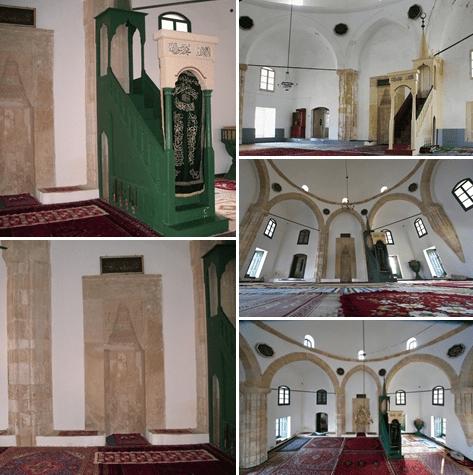 interior Masjid Hala Sultan Tekke