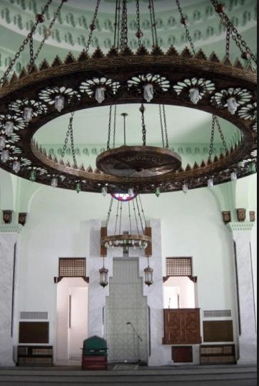 interior Masjid Ibrahim Al-Ibrahim