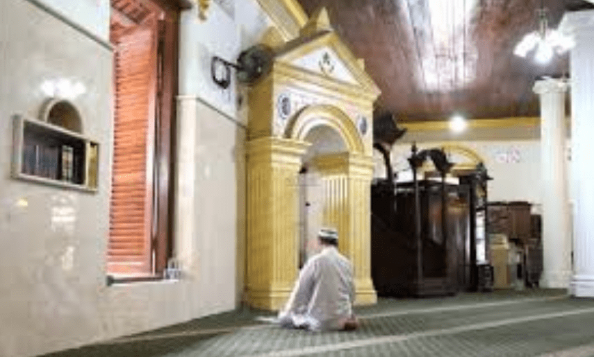 interior Masjid Jami' An-Nawier