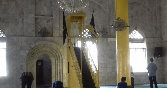 interior Masjid Lama Gang Bengkok Kota Medan