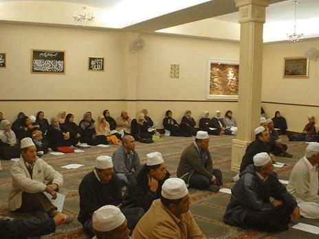 interior Masjid Nurul Islam Cape Town