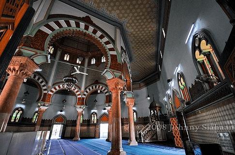 interior Masjid Raya Al-Mashun