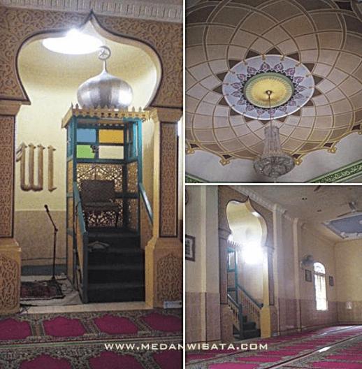 interior Masjid Raya Sulaimaniyah
