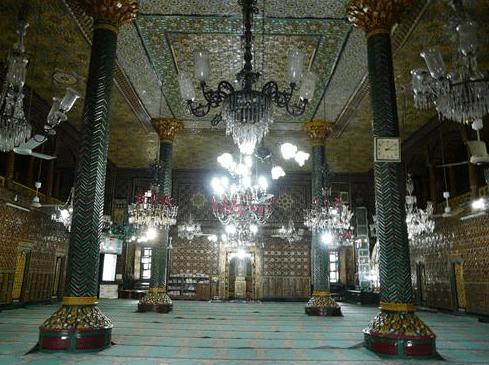 interior Masjid Shah Hamadan Kashmir