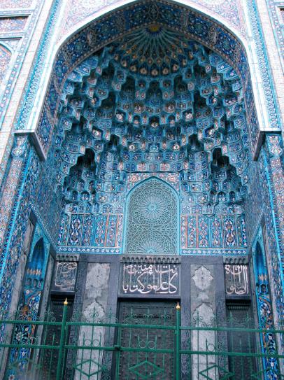interior masjid agung katedral