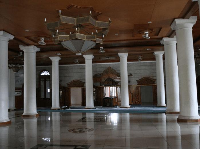 interior masjid agung sumedang