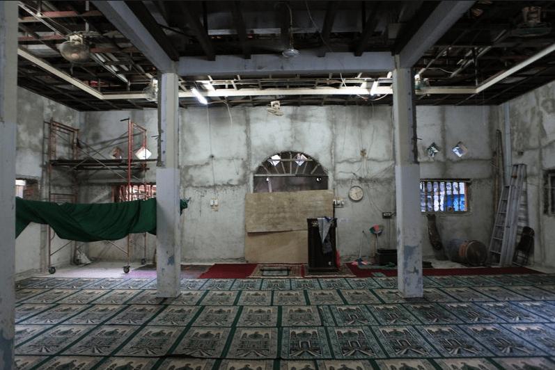 interior masjid al ansor.