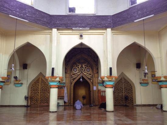 interior masjid al-dahab
