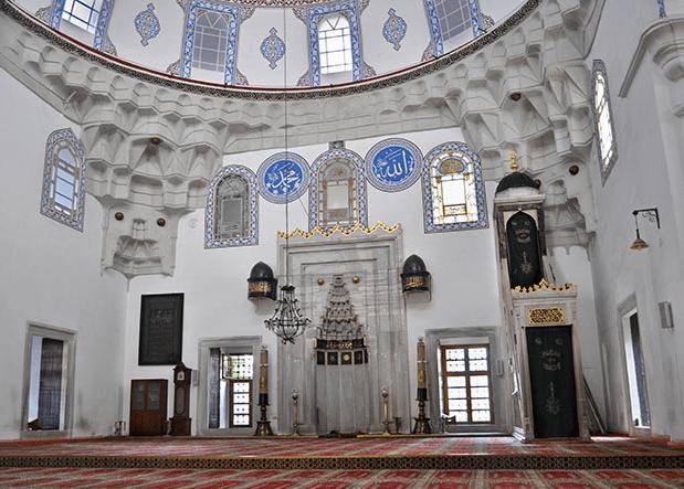 interior masjid ali pasha sarajevo