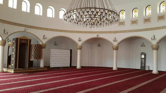 interior masjid ar rahma