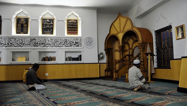 interior masjid auwal