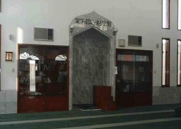 interior masjid babul islam
