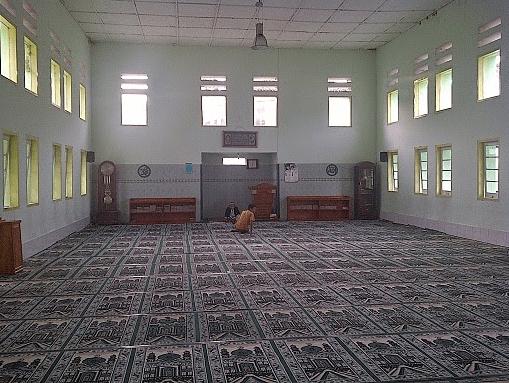interior masjid cipari