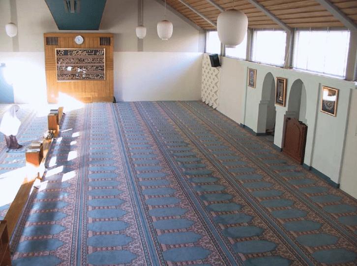 interior masjid di belanda