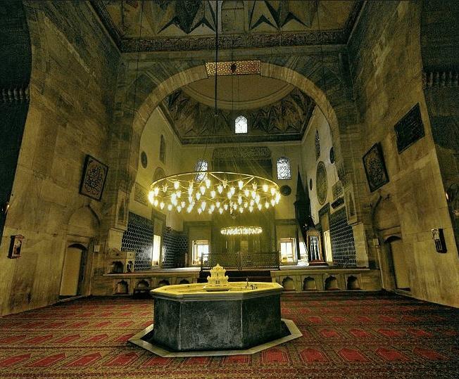 interior masjid hijau