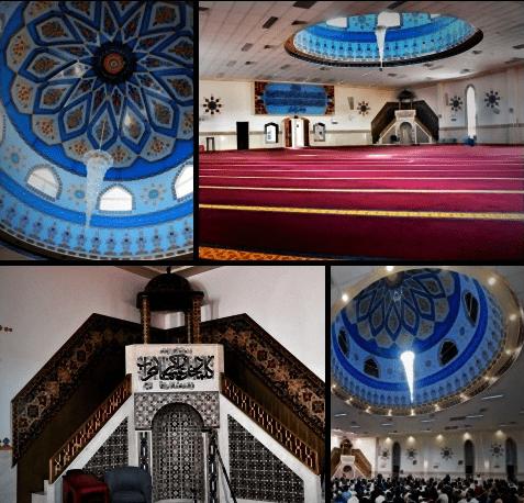 interior masjid imam ali nin abi thalib