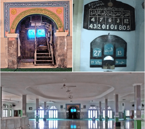interior masjid jami' matraman