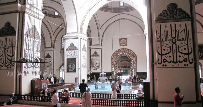 interior masjid jami' ulu