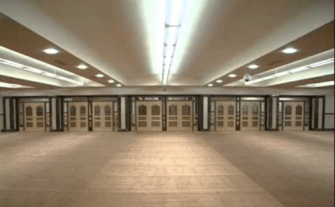 interior masjid jami zakariyya