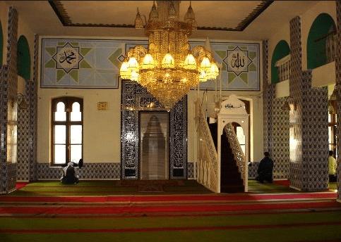 interior masjid moscow historical